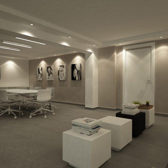 Διακόσμηση εσωτερικού χώρου ιατρείου